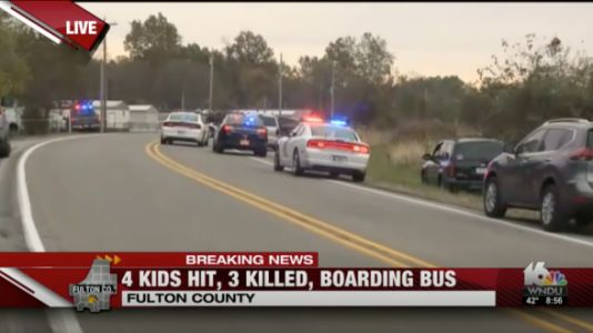 Three Siblings Were Hit By A Truck And Killed While Boarding Their Bus