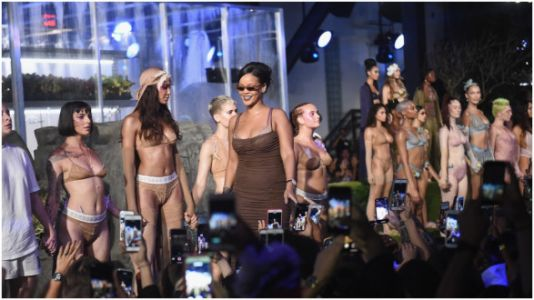 Rihanna's Fashion Show Was Filled With Diversity And Body Positivity