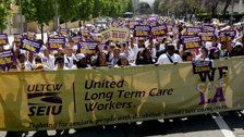 Medicaid Officials Target Home Health Aides' Union Dues