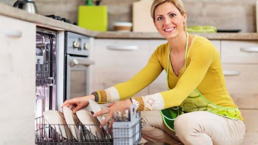 It's all in the perception: Chores such as washing dishes can cause or relieve stress, depending on attitude, according to recent study