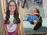 Girl, 10, passed out after having her hair curled triggered a seizure