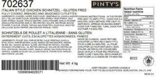 Pinty's recalls another chicken product after investigators find Listeria