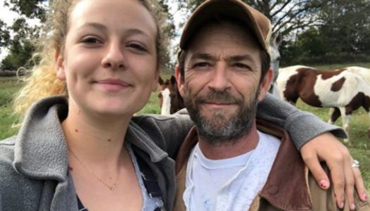 Luke Perry's Daughter Speaks Out For The First Time Since Losing Her Dad