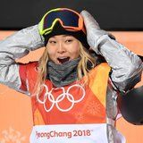 "Chloe Kim Arrives at Olympics, Immediately Wins Gold, Is ""Down For Some Ice Cream RN"""