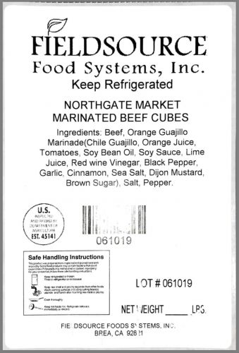Fieldsource Foods recalls beef, chicken for undeclared allergens