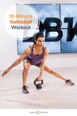 Got 10 Minutes? This Kettlebell Workout Only Has 3 Exercises
