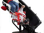 The spinning chair that can help to end dizzy spells: Space-age seat that is used to treat vertigo