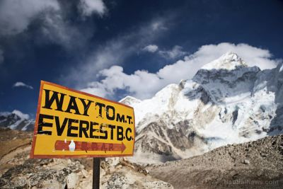 Has Mount Everest become the world's tallest garbage dump?