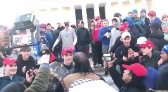 Fake news smears against Covington Catholic School students prove how left-wing media is deliberately inciting mob violence against whites