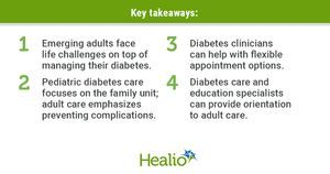 Emerging adults need focus, flexibility in transition from pediatric diabetes care