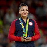 Gold-Medal Gymnast Laurie Hernandez Uses HIIT Workouts to Prep For 2020 Olympic Games