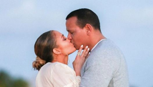 JLo And A-Rod Share New Engagement Pics And They're STUNNING