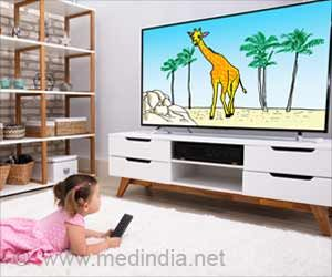 Watching TV May Up Obesity Risk in Kids