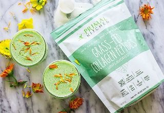 Enjoy a Collagen Peptides Green Smoothie-And Win a Vitamix!