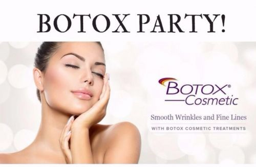 Botox Party with Dr. Curtsinger in St. Simons Island