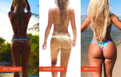 This Bikini Model Proves That Lifting Weights Is Better Than Cardio