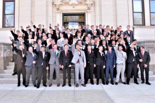 Wisconsin High Schools Students Pose Doing Nazi Salute In Prom Photo