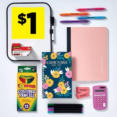 13 Back-to-School Things I Got For Literally $1 or Less at Dollar General