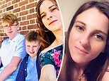 Mother-of-two, 36, endures terrifying hallucinations that see her tormented by 'an evil presence'