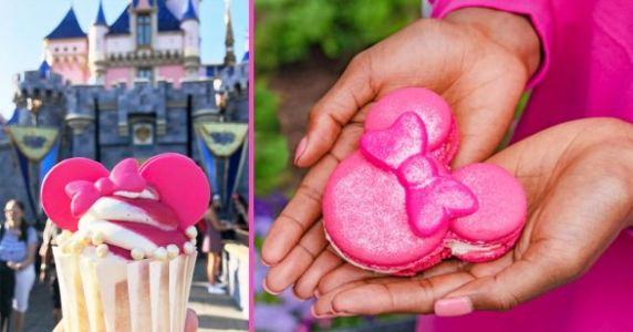 Disney Unveils New All-Pink Menu And Everything's Almost Too Pretty To Eat