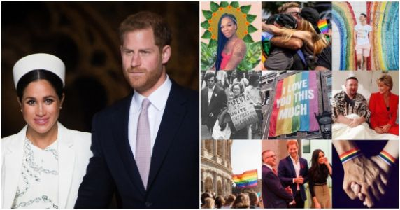 Meghan Markle And Prince Harry 'Proudly' Support PRIDE In New Instagram Post