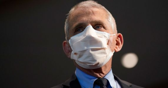 Dr. Fauci Says Double Masking 'Just Makes Common Sense'