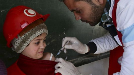 More Than 130,000 Vaccine Doses Reportedly Destroyed In Syria After Attack