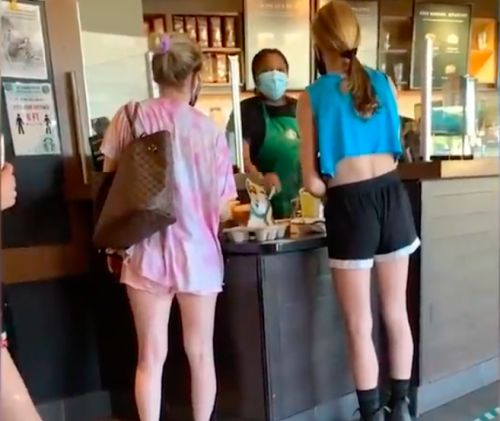 Woman Shouts 'F*ck Black Lives Matter' At Black Barista Over Mask Dispute