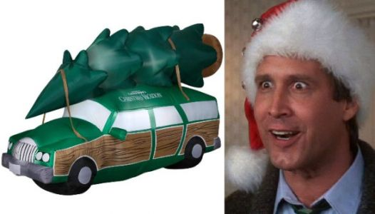 A Giant 'Christmas Vacation' Inflatable Car Exists, And We Need It