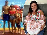 Couple about to start IVF after suffering two miscarriages fall pregnant naturally with TRIPLETS