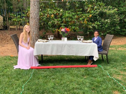 7-Year-Old Stages Adorable 'Mini Prom' After His Babysitter's Dance Was Canceled