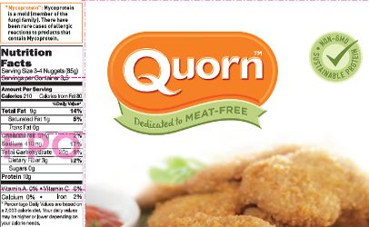 Quorn agrees to change labels to reveal main ingredient is mold