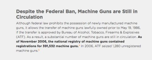 Machine Guns Are Legal In Nevada. So Are Open Carry And Concealed Weapons