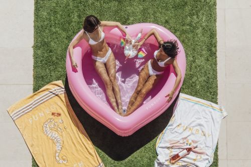 Inflatable Pools Just For Us Adults Because We Deserve To Cool Off Too, Dammit