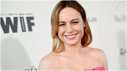 Brie Larson Shared a Workout Video on Twitter-and She's Pushing a 5,000-Lb. Jeep!