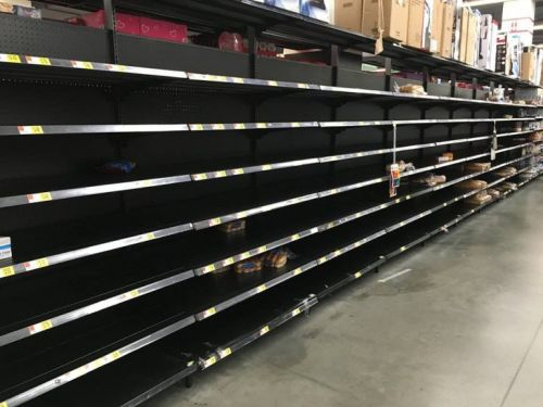 Shopping at Walmart now resembles a police state FEMA camp experience thanks to coronavirus: Our dystopian future has arrived