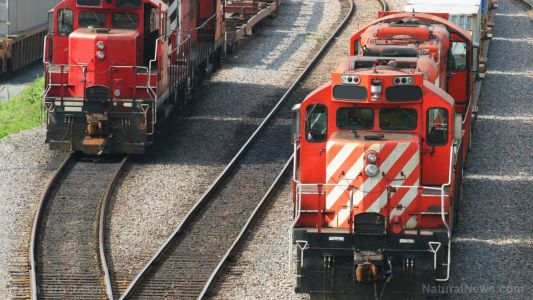 First shipping containers, now train cars: Union Pacific says all workers must get jabbed by Dec. 8