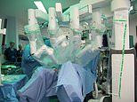 Four armed robot carries out major surgery in Britain for the first time