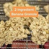 This 2-Ingredient Banana Granola Recipe From TikTok is Sugar-Free and Costs $1 Make!