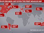 Millions of children do not receive the life-saving measles jab each year