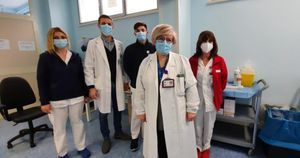 Italian hospitals struggle with surge of COVID-19 as vaccination campaign gains speed