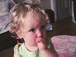 Desperate mum shaves off two-year-old's blonde curls