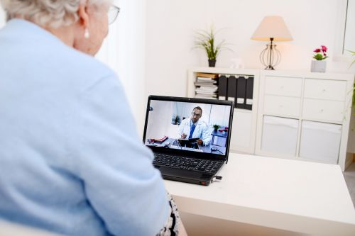 Many Older Adults Can't Connect With Telehealth