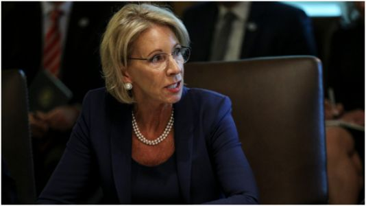 Betsy DeVos Wants To Increase Protections For Students Accused Of Sexual Assault