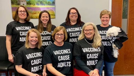 Pediatric Office Sends A Very Clear Message About Vaccines