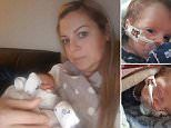 Mum forced to give seven-week-old baby the kiss of life