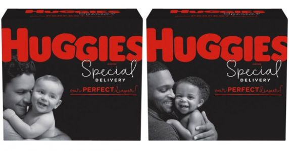 Huggies Features Dads On Diaper Boxes For The First Time, Ever