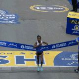 Worknesh Degefa of Ethiopia Wins the Boston Marathon, American Jordan Hasay in Third