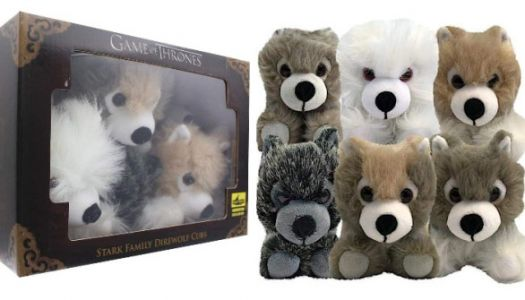 The Whole Family Can Enjoy These Adorable Plush Direwolves