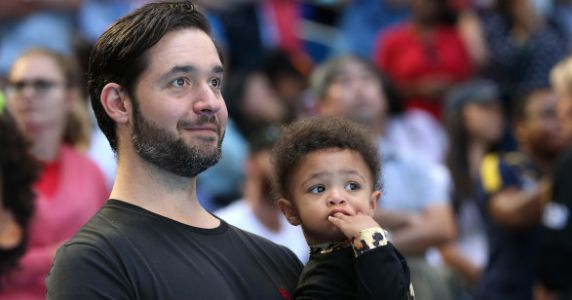 Serena Williams' Husband Wants To Learn To Do His Daughter's Hair, And People Have Feelings